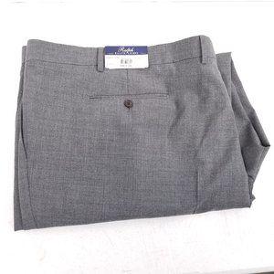 Ralph Lauren Wool Blend Pleated Dress Pants 64X30